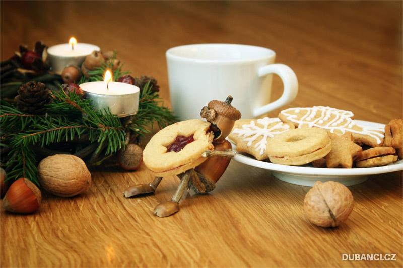 Dubánek baští vánoční cukroví