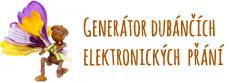 Generátor dubánčích elektronických přání zdarma
