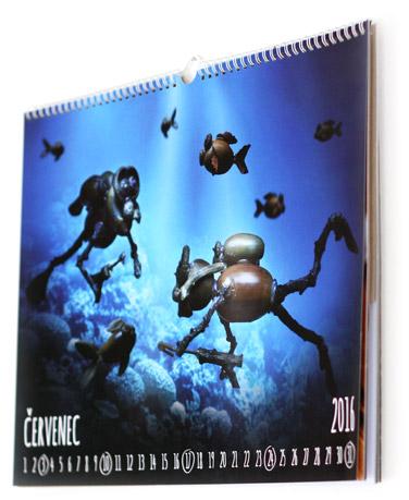 Kalendář - červenec 2016