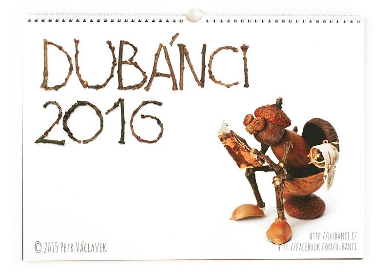 Kalendář s dubánky