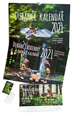 Dubánčí kalendáře na rok 2021 již v prodeji!