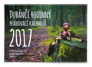 Rosinný plánovací kalendář s dubánky 2017