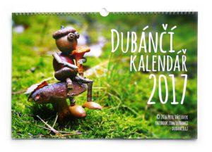 Nástěnný kalendář s dubánky 2017