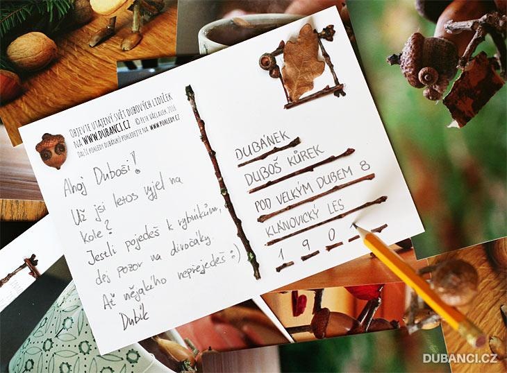 Dubánčí pohlednice