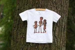 Dětské triko s dubánky